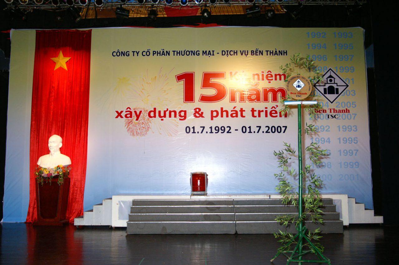 Lễ kỷ niệm 15 năm Bến Thành