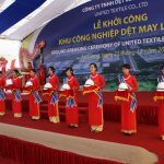 Lễ Khởi công nhà máy Dệt An Giang – Groundbreaking Ceremony Of An Giang Textile Factory