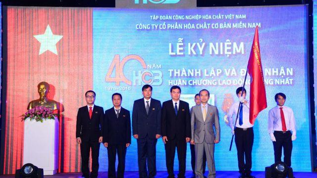 Lễ kỷ niệm 40 năm Hóa chất Miền nam