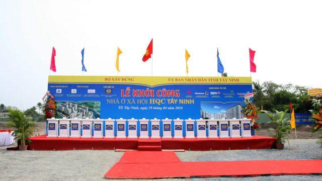 Lễ khởi công nhà ở xã hội HQC Tây Ninh