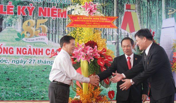 Lễ kỷ niệm 85 năm ngành cao su Việt nam