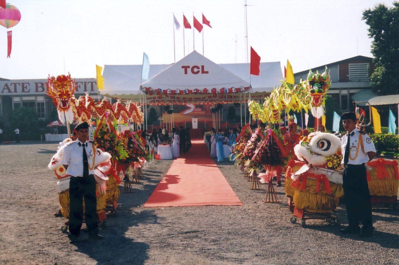 Lễ kỷ niệm 5 năm thành lập TCL