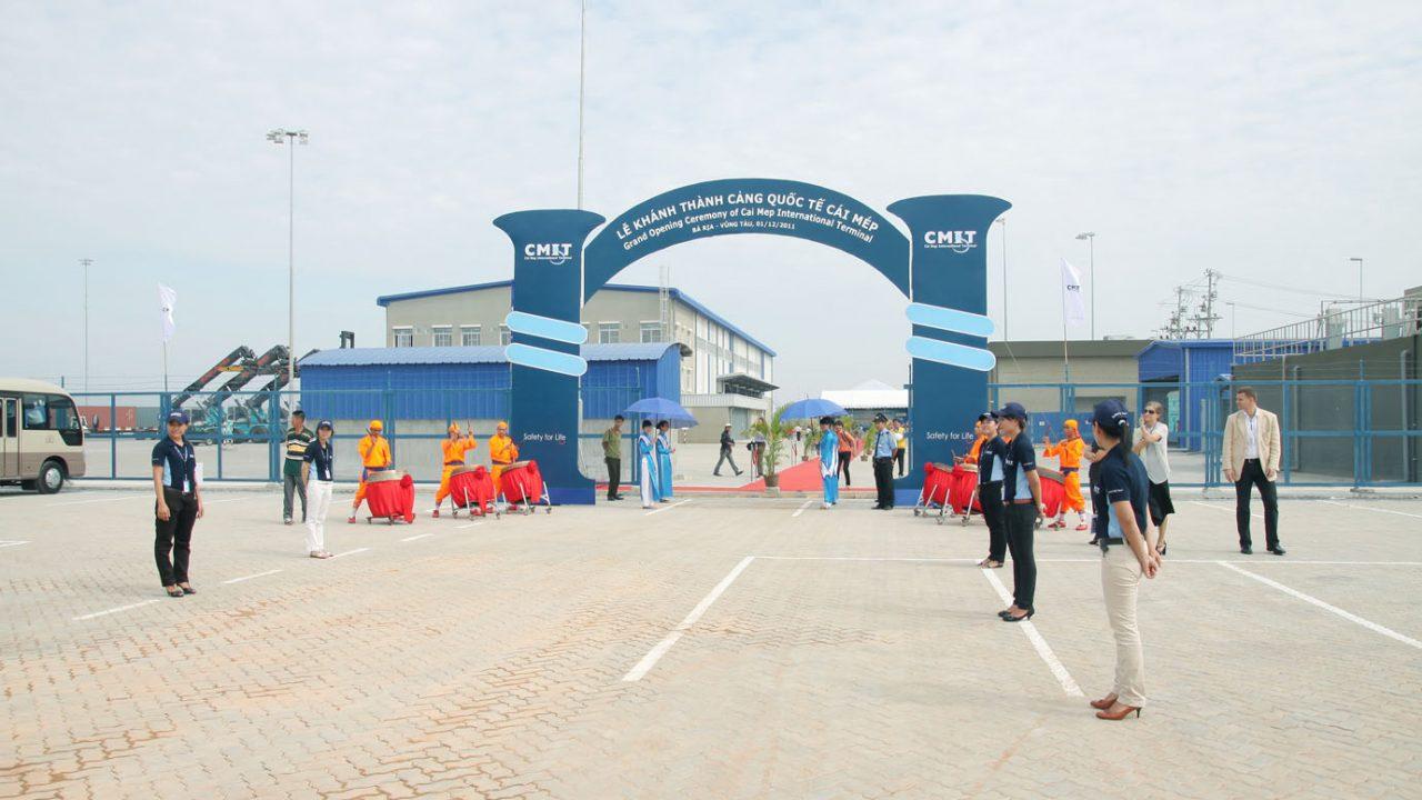 Lễ khánh thành cảng CMIT