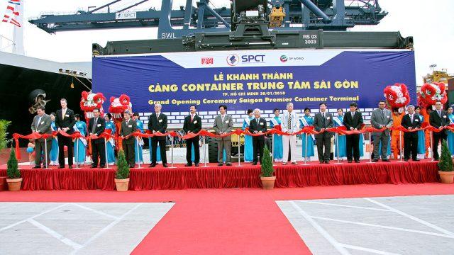 Lễ khánh thành cảng container saigon